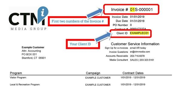 CTM Invoice